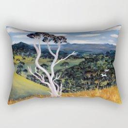 Glasshouse Mountains, Qld. Australia        by Kay Lipton Rectangular Pillow