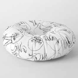 The SENSUALIST Collection (Tact) Floor Pillow