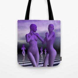 go violet -05- Tote Bag