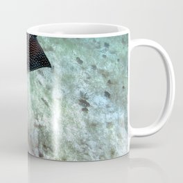 Watercolor Ray, Spotted Eagle Ray 25, St John, USVI Coffee Mug
