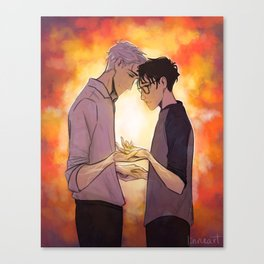 Viktor and Yuuri Canvas Print