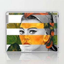Frida Kahlo's Self Portrait with Monkey & Sophia Loren Laptop & iPad Skin