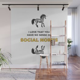 Social Norms Wall Mural