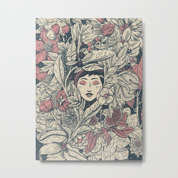 Ecstasy & Decay Metal Print