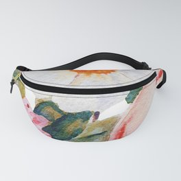 Loose Spring Bouquet Fanny Pack