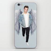 louis iPhone & iPod Skins featuring Louis by gutsngore