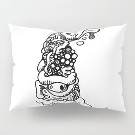 Leaning tower of goo doodle Pillow Sham