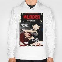 dramatical murder Hoodies featuring MURDER STORIES by Thomas B.- Rock Artwork