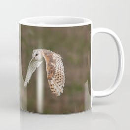 Barn Owl in Flight Coffee Mug