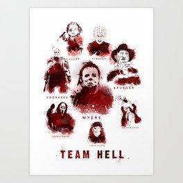 Team Hell #3 Art Print