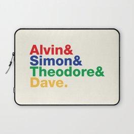 ALVIN&SIMON&THEODORE&DAVE. Laptop Sleeve