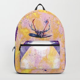 Autre visage du Yoga au Cerf Backpack