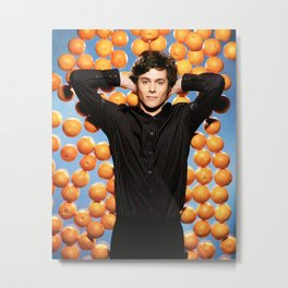 ORANGE SETH COHEN Metal Print