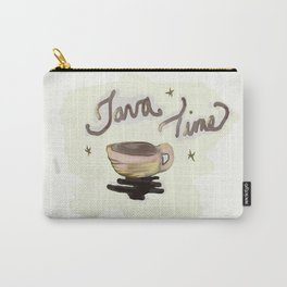 Java Time Carry-All Pouch