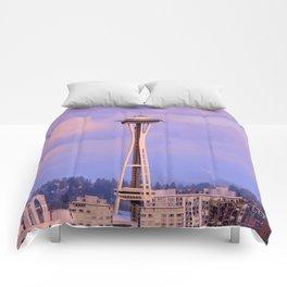 Seattle Space Needle Comforters