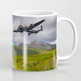 Lancaster Bomber in Snowdonia Coffee Mug