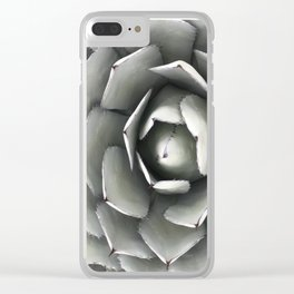 Arizona Agave Parryi Clear iPhone Case