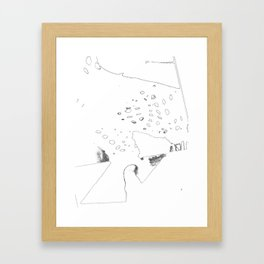 experience pure gold with liverwurst Framed Art Print