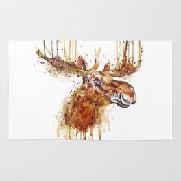 Moose Head Rug