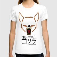 coyote T-shirts featuring Coyote by Millennium Gorilla