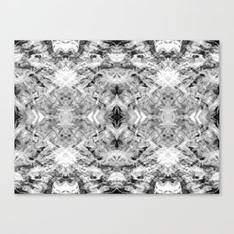 Black & White Art Canvas Print