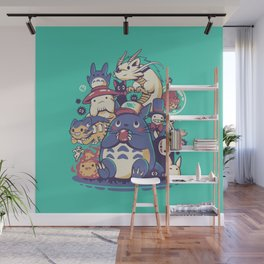Creatures Spirits and friends Wall Mural