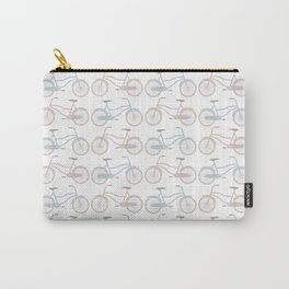 Vintage Bicycle Pattern Carry-All Pouch