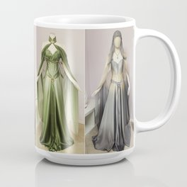 Elven Bridal Gown Collection Coffee Mug