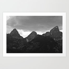 Grand Tetons Art Print