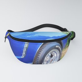classic lines in blue Fanny Pack
