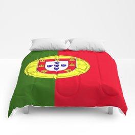 Portugal flag emblem Comforters