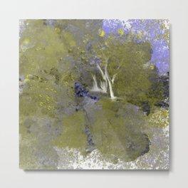Abstract Landsape Metal Print
