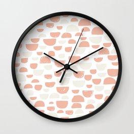 Half Circle 01 Wall Clock