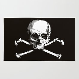 Skull and Crossbones | Jolly Roger Rug