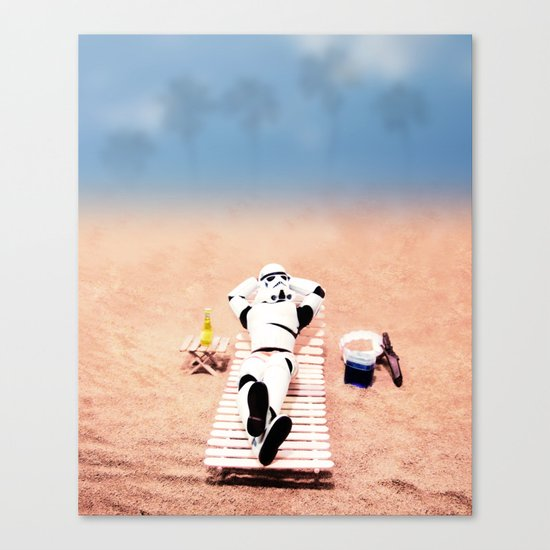 To hell with those droids (i'll keep searching later) Canvas Print