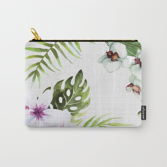 Tropical Serenity #society6 Carry-All Pouch