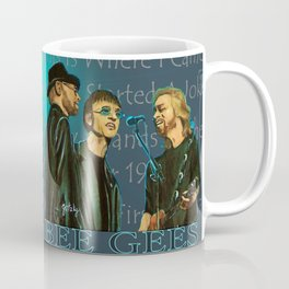 Bee Gee's Poster Coffee Mug