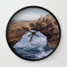 Biarritz Rock Arch Wall Clock