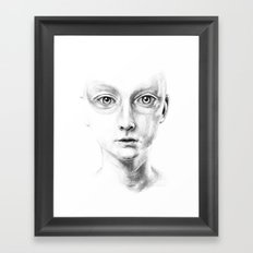 not my fault Framed Art Print