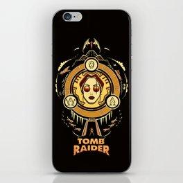 Tomb Raider I - Wheel of Adventure iPhone Skin
