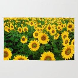 Field of Sunflowers Rug