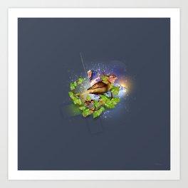Even the sparrow Art Print