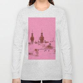 University of Tampa -- Pink Long Sleeve T-shirt