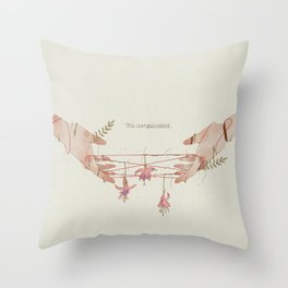 It's Complicated... Throw Pillow