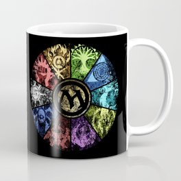 Magic the Gathering - Faded Guild Wheel Coffee Mug