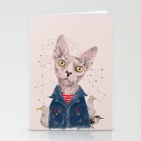 gangster Stationery Cards featuring The Gangster by dogooder
