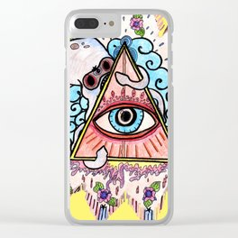 Mindful Eye Clear iPhone Case