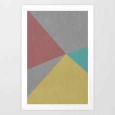 Concrete & Color Art Print