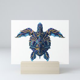 Sea Turtle (Color Version) Mini Art Print