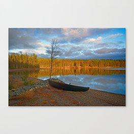 Autumn In Linviken Canvas Print